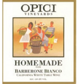 Opici Homemade Barberone Bianco